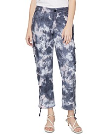 At Ease Tie-Dye Cargo Pants