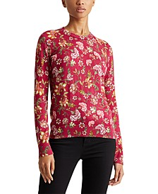 Petite Cotton-Blend Sweater