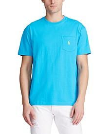Men's Big & Tall Crew-Neck Pocket T-Shirt