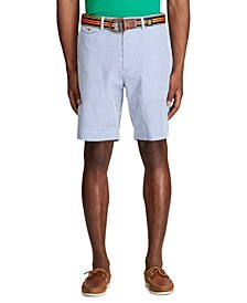 "Men's Classic Fit 9.25"" Seersucker Shorts"