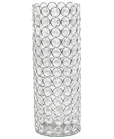 Elipse Crystal Decorative Vase
