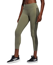 Women's Believe This 3-Stripe High-Rise Leggings