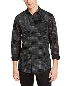 Men's Geo-Print Classic-Fit Shirt