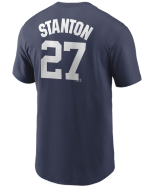 Nike Men's Giancarlo Stanton New York Yankees Name and Number Player T-Shirt