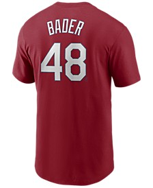 Men's Harrison Bader St. Louis Cardinals Name and Number Player T-Shirt