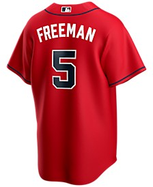 Men's Freddie Freeman Atlanta Braves Official Player Replica Jersey