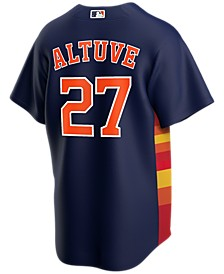 Men's Jose Altuve Houston Astros Official Player Replica Jersey
