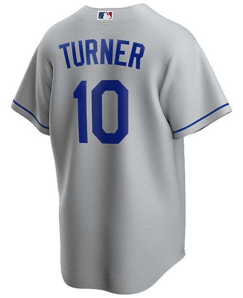 Nike Men's Justin Turner Los Angeles Dodgers Official Player Replica Jersey