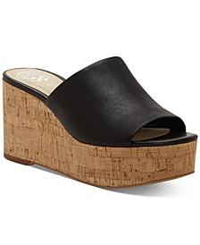 Gadgen Wedge Sandals