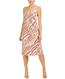 Printed Slip Midi Dress, Created for Macy's