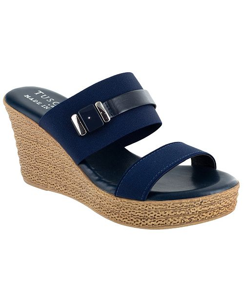 Easy Street Tuscany by Esta Wedge Sandals