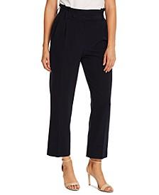 Pleat-Front Pants
