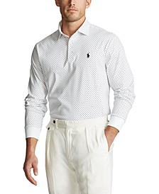 Classic-Fit Polka-Dot Polo