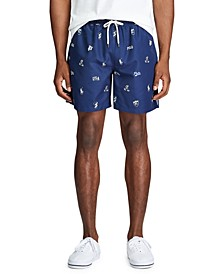 "Men's 5.5"" Inch Traveler Swim Trunks"