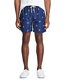 """Men's 5.5"""" Inch Traveler Swim Trunks"""