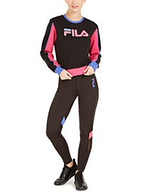 Colorblocked Sweatshirt & Leggings
