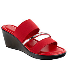 Tuscany by Easy Street Monaco Wedge Sandals