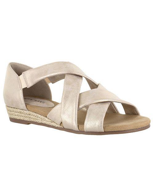 Easy Street Zora Espadrille Sandals