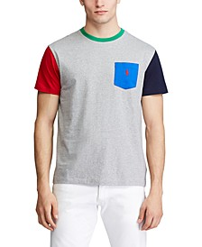 Men's Classic Fit Colorblocked  T-Shirt