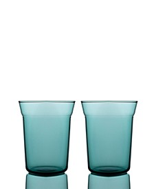 Angle Taper Double Old Fashioned Glasses - Set of 2
