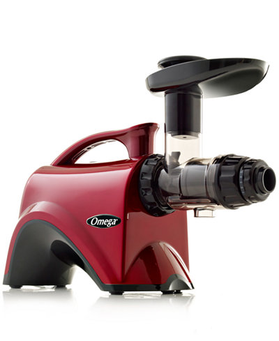 Top Slow Speed Juicer : Omega NC800HDR Red Slow Speed Nutrition Center Masticating Juicer - Electrics - Kitchen - Macy s