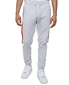 Men's Classic-Fit Colorblocked Stripe Track Pants