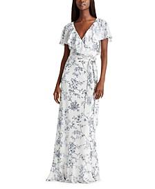 Georgette Capelette Dress