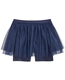 Toddler Girls Bike Short Tutu Skirt