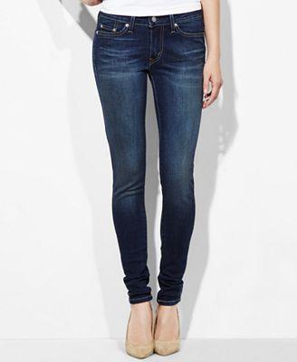 Levi's® 535™ Super Skinny Jeans - Jeans - Women - Macy's