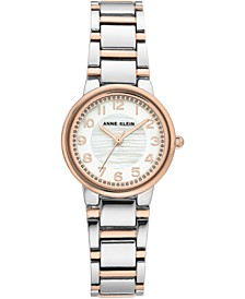 Women's Two-Tone Bracelet Watch 28mm