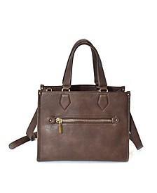 Removable/Adjustable Long Strap Satchel Bag