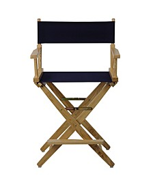 "Extra-Wide Premium 24"" Directors Chair with Cover"