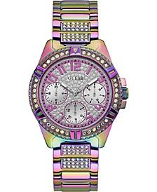 Women's Rainbow Stainless Steel Bracelet Watch 40mm