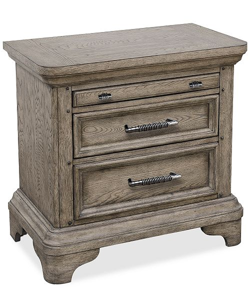 Furniture Bristol Bedroom USB Nightstand