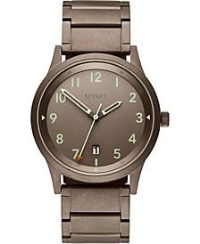 Men's Field Taupe Stainless Steel Bracelet Watch 41mm