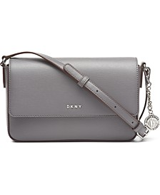 Bryant Leather Flap Crossbody, Created for Macy's