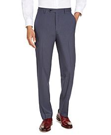 Men's Classic-Fit Blue Pinstripe Suit Separate Pants