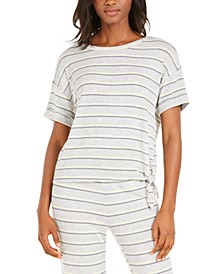 Side-Tie Sleep T-Shirt, Created for Macy's