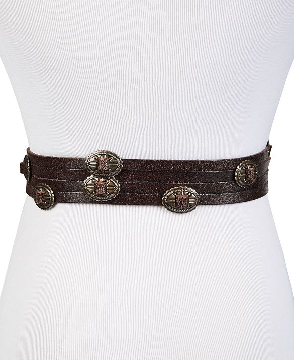 Frye and Co. Swag Leather Waist Belt