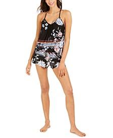 Cami Tank and Short 2-Pc Pajama Set