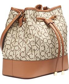 Signature Gabrianna Bucket Bag