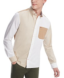 Men's Vance Colorblocked Shirt, Created for Macy's