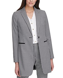 Gingham Topper Jacket