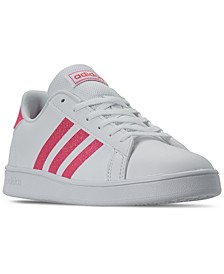 Girls Grand Court Casual Sneakers from Finish Line