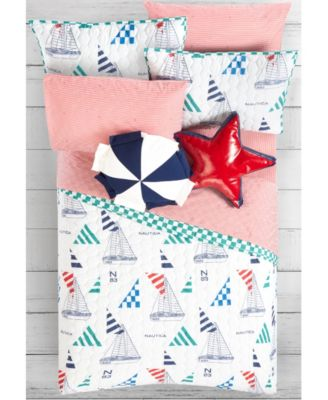 Kids Sailboat 2-Piece Twin/Twin XL Quilt Set
