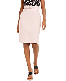 Belted Pencil Skirt, Created For Macy's