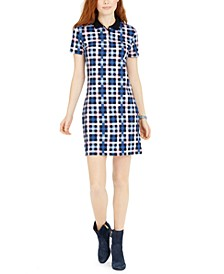 Plaid Polo Dress
