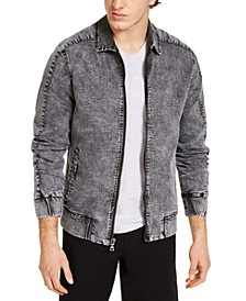 INC Men's Black Snow Flight Jacket, Created for Macy's