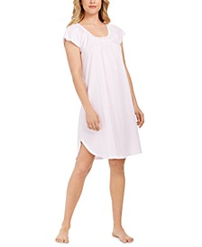 Smocked Striped Nightgown