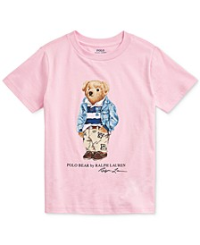 Toddler Boys Preppy Bear Cotton Jersey T-Shirt